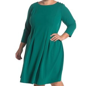 Donna Morgan Fit & Flare Dress - Size 14